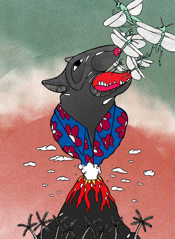 Ilustración Terrier sin texto